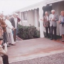 Image of Sun Cities Area Historical Society - House dedication ribbon cutting ceremony