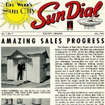Image of Del Webb's Sun City Sun Dial Vol 1 No 7