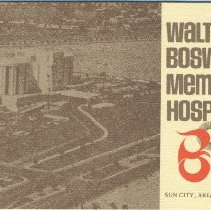 Image of Booklet - Walter O. Boswell Memorial Hospital booklet which is for patients at the hospital.