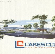 Image of Booklet - Lakes Club - A Social and Dining Club booklet about the club.