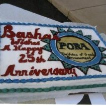 Image of SCW 25th Anniversary cake