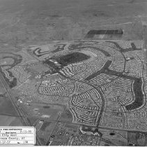 Image of Job No. 4290 - Photo 100 - Photographic record of the development of Sun City West in periodic aerial photos.  