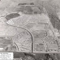 Image of Job No. 4290 - Photo 14 - Photographic record of the development of Sun City West in periodic aerial photos.  