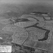 Image of Job No. 4290 - Photo 48 - Photographic record of the development of Sun City West in periodic aerial photos.  