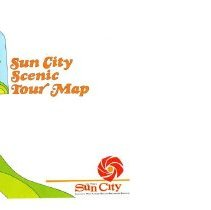 Image of Pamphlet - Del E. Webb marketing brochure titled Sun City Scenic Tour Map