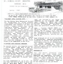 Image of Newsletter - Spring and Fall 1992 Newsletter from the Sun Cities Area Historical Society.