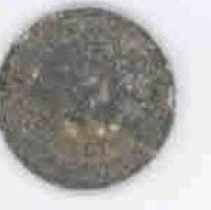 Image of Sun City General - Arizona sales tax token which were used to make change when the sales tax was a fraction of a cent. Rounding of the tax was apparently not allowed. This token is for one mill which is one tenth of a cent. Arizona sales tax tokens was authorized by Chapter 77 Laws of 1935 and in 1954 the Arizona tax statues were recodified and the portion dealing with tokens was dropped.  Token was discovered in backyard of 10052 W Peoria Avenue. Some tokens are displayed at the Capitol museum.