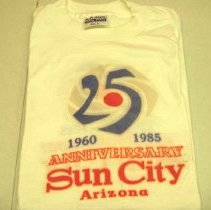 Image of Sun City 25th Anniversary - One Sun City 25th Anniversary t-shirt