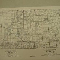 Image of Map - Ownership map of Maricopa County dated January 1929.  Map shows Marinette and Southwest Coffee Company on left side.  Bottom street is Northern Avenue. Phoenix Blue Print Company is the printer.