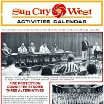 Image of Newsletter - Sun City West Activities Calendar