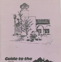 Image of Booklet - Guide to the Recreation Centers of Sun City West, Inc. booklet .  Lists rules and regulations and describes the facilities and chartered clubs.