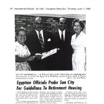 Image of Egyptian Officials visit Sun City