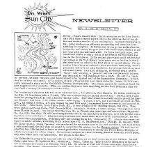 Image of Newsletter - Sun City Newsletter for March 14, 1973.