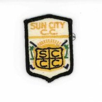 Image of Sun City General - Emblem from Sun City Country Club.
