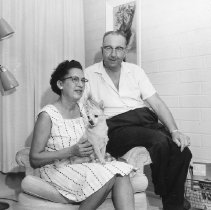 Image of Early residents - Early residents John and Ruth Zillien, 12231 W Augusta Drive.