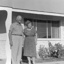 Image of Early residents - Early residents Percy and Nina Harris, 12425 Cherry Hills Drive.