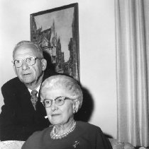 Image of Early residents - Early residents Leland and Mattie Cornell celebrate their 50th Anniversary.