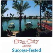 Image of Pamphlet - Pamphlet titled Sun City Arizona  Success-Tested Adult Living by Sun City Ambassadors.