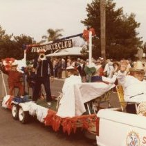 Image of 25th Anniversary  - Sun City Bocce Club parade entry