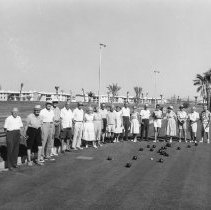 Image of Lawn bowling - Units 2 and 3 lawn bowlers