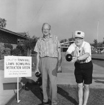 Image of Lawn bowling - Cornell and Glenn lawn bowling