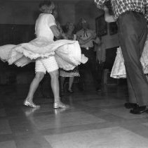 Image of Square Dancing - Square dancing photo. Photo was used in Jubilee book on page 261.