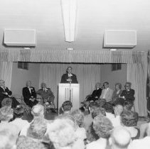 Image of Republican Club - Political rally at a Republican Club party.