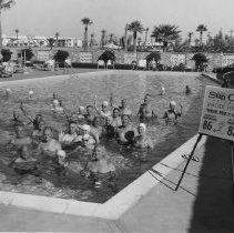 Image of Town Hall - Swimming pool at Town Hall now known as Fairway Center.