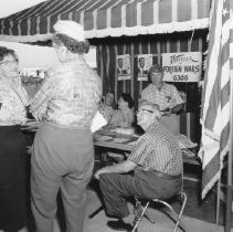 Image of Western Days - Veterans of foreign wars exhibit at Western Days.