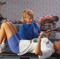 Image of Sun City West fitness - Working out