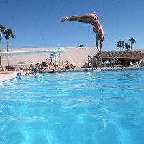 Image of Sun City West swimming - Diving
