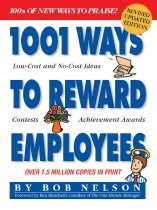 Image of 1001 ways to reward employees
