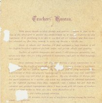 Image of Back of C. Lewis Letter B4