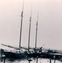 "Image of The three mast schooner ""Henry Weiler"" - Print, Photographic"