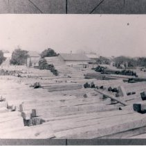 Image of Lumber yard - Print, Photographic
