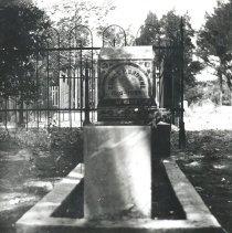 Image of Eunice P. Browne Cemetery Stone - Print, Photographic