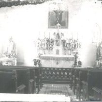 Image of St. Michael's altar - Print, Photographic