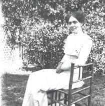 Image of Eve Traeye, nurse for the George Davis family - Print, Photographic