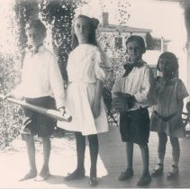 Image of The children of Patrick C. Kelly - Print, Photographic