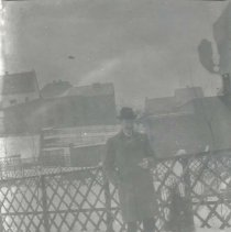Image of Man standing in snow - Print, Photographic