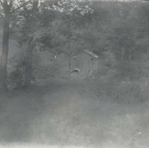 Image of House in woods - Print, Photographic