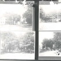 Image of Four street scenes - Print, Photographic