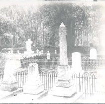 Image of St. Marys Cemetery, Tompkins family plot - Print, Photographic
