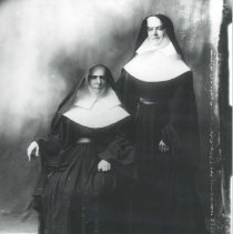 Image of Two Nuns - Print, Photographic