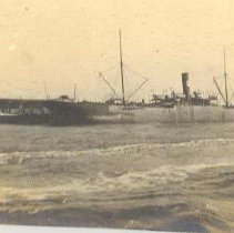 Image of Steamer loaded to marks - Print, Photographic