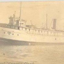 "Image of Excursion boat ""Fannie Mark"" - Postcard"