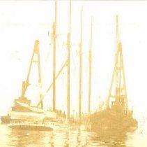 Image of Sunken ship - Print, Photographic