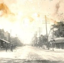 Image of Centre Street in Fernandina - Print, Photographic