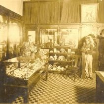 Image of Jack Moore and Indian Artifacts - Print, Photographic