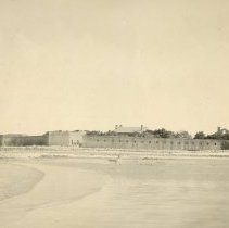 Image of Ft. Clinch from River - Print, Photographic